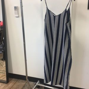 Lily White Striped Top